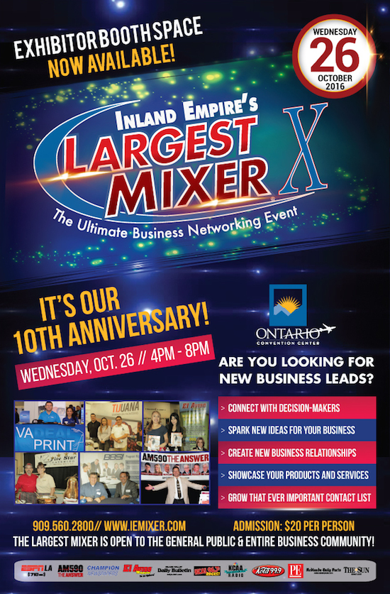 Inland Empire's Largest Mixer and Business Expo