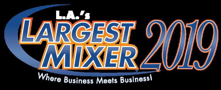 LA Largest Mixer Logo