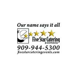 Five Star Catering & Event Productions for Your Next Event